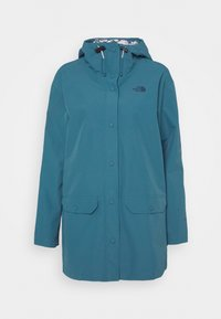 The North Face - LIBERTY WOODMONT RAIN JACKET - Regenjacke / wasserabweisende Jacke - mallard blue - 4