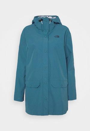 LIBERTY WOODMONT RAIN JACKET - Regnjakke / vandafvisende jakker - mallard blue