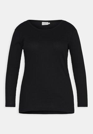 KCRINA - Pitkähihainen paita - black deep