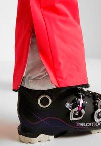 Halti - PUNTTI SKI PANTS - Snow pants - neon fiery coral - 3