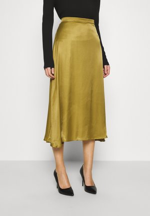 BILLIE - A-line skirt - olive