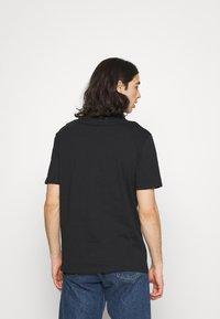 YOURTURN - 2 PACK UNISEX - Basic T-shirt - black/black - 2