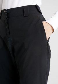 Salomon - ICEMANIA PANT - Pantalón de nieve - black - 4