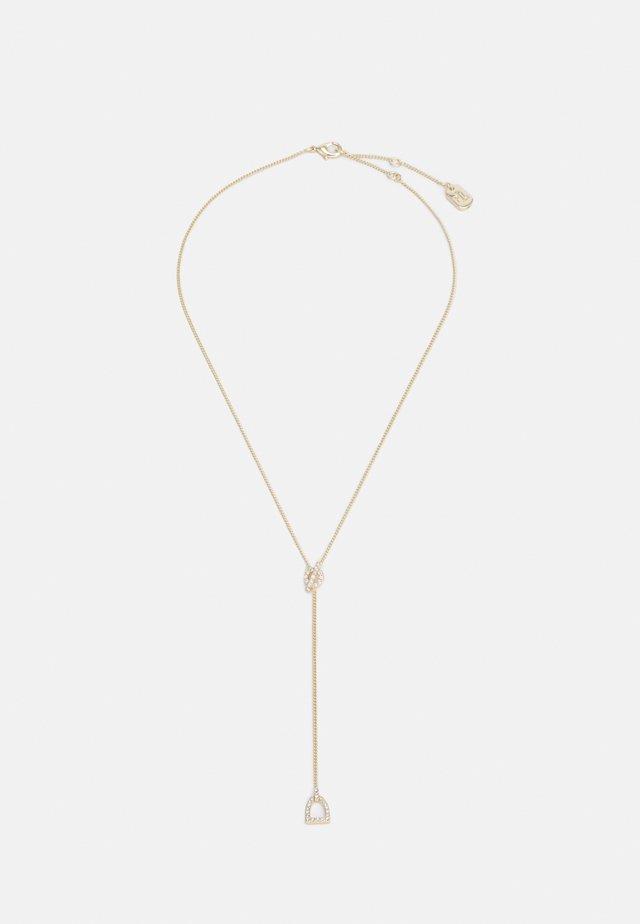 STIRRUP Y NECK - Náhrdelník - gold-coloured