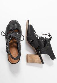 Carmela - High heeled sandals - black - 3