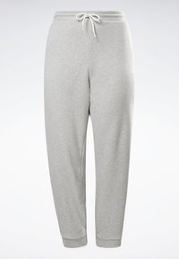 Reebok - Tracksuit bottoms - medium grey heather - 8