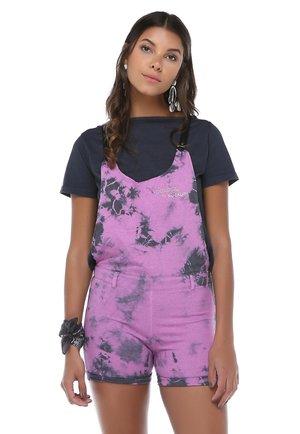 2-IN-1 - Tuinbroek - lilac batik