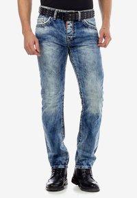 Cipo & Baxx - Slim fit jeans - ijsblauw - 5