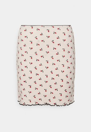 BUD SKIRT - Mini skirt - off white
