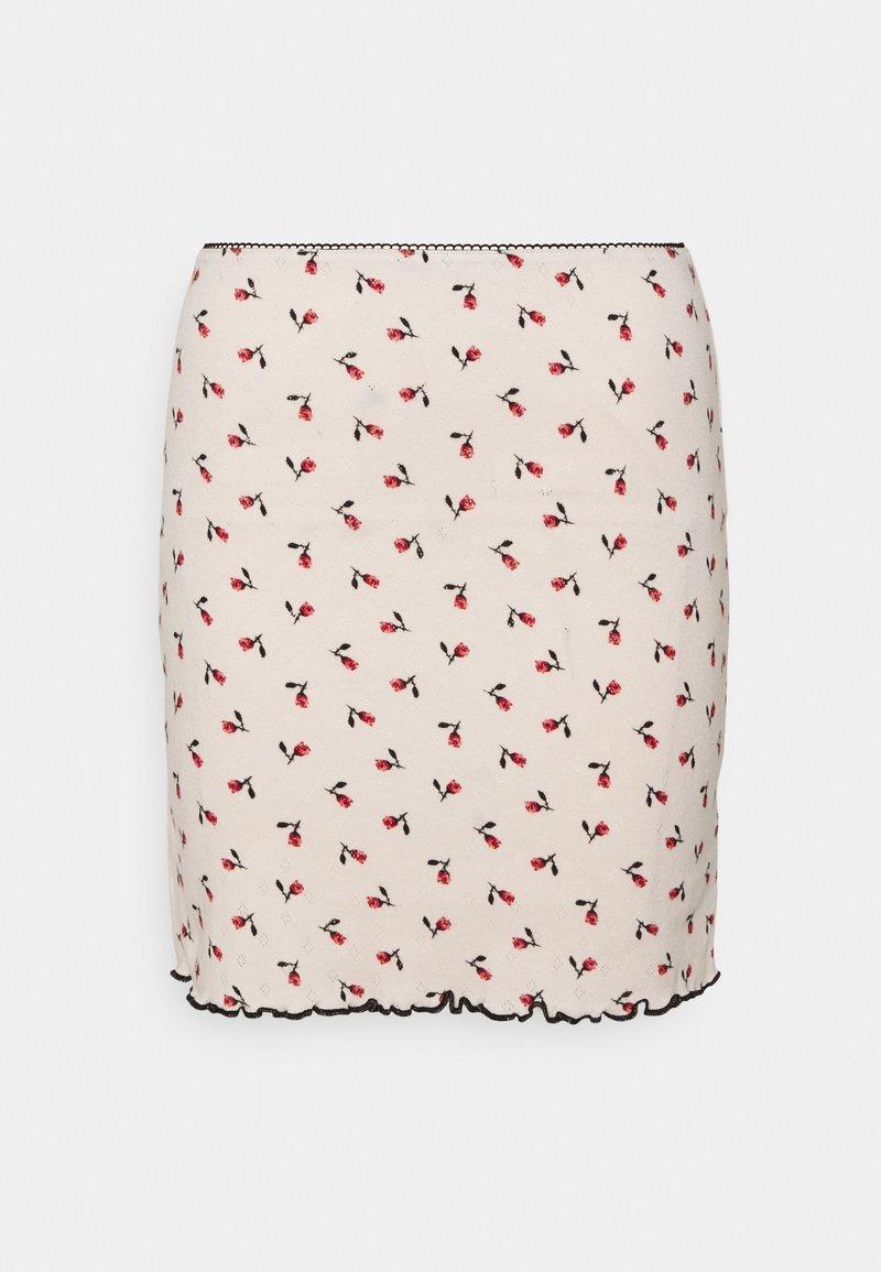 Milk it - BUD SKIRT - Mini skirt - off white
