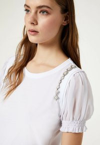 LIU JO - Camiseta estampada - white - 3