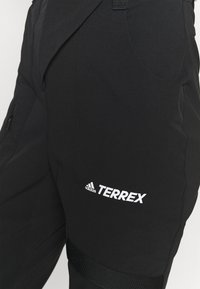 adidas Performance - TERREX ZUPAHIKE - Outdoorbroeken - black - 4