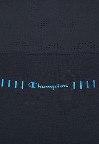 Champion - GET ON TRACK SLEVELESS TEE - T-shirt de sport - dark blue - 5