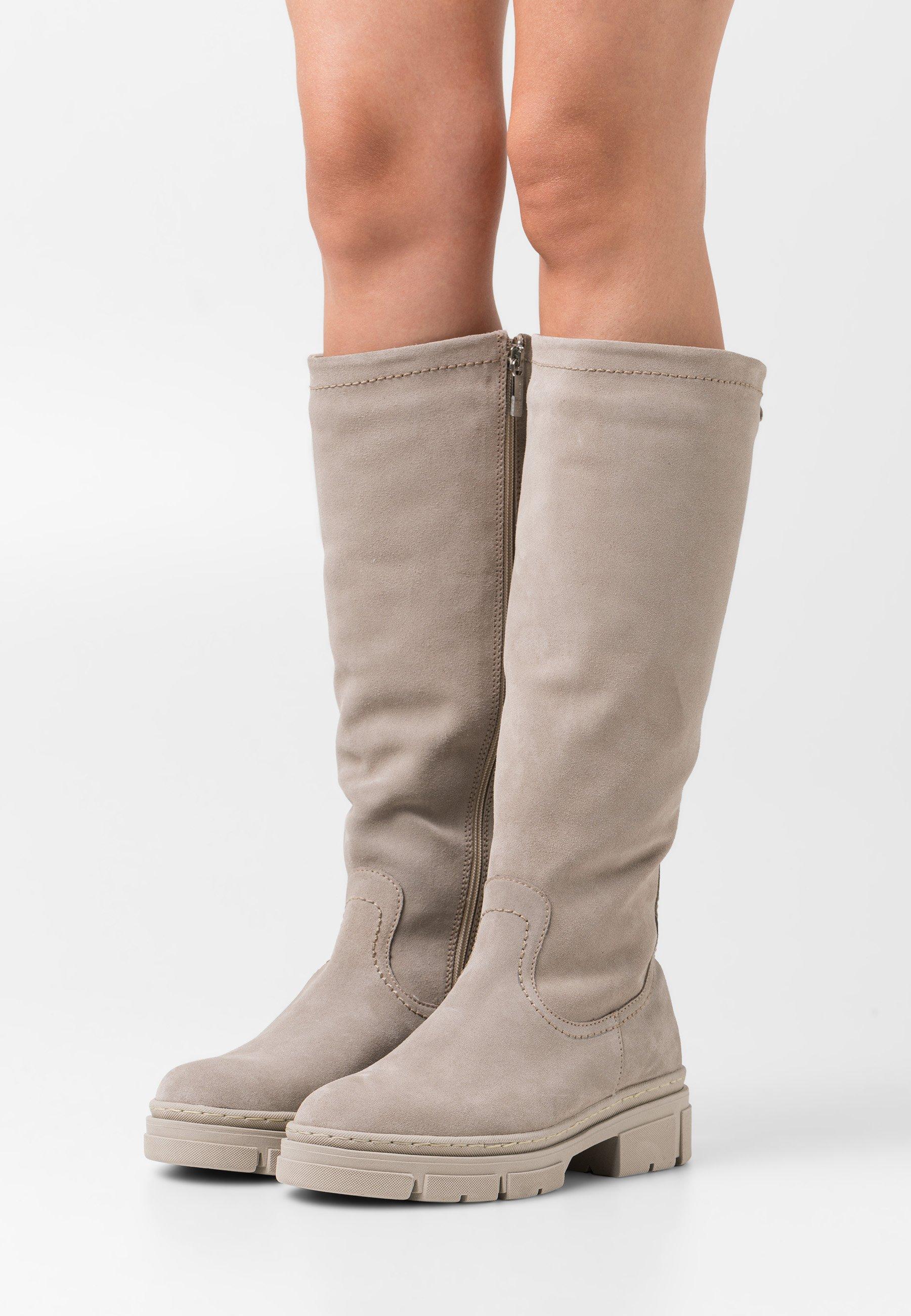 Women Platform boots - taupe