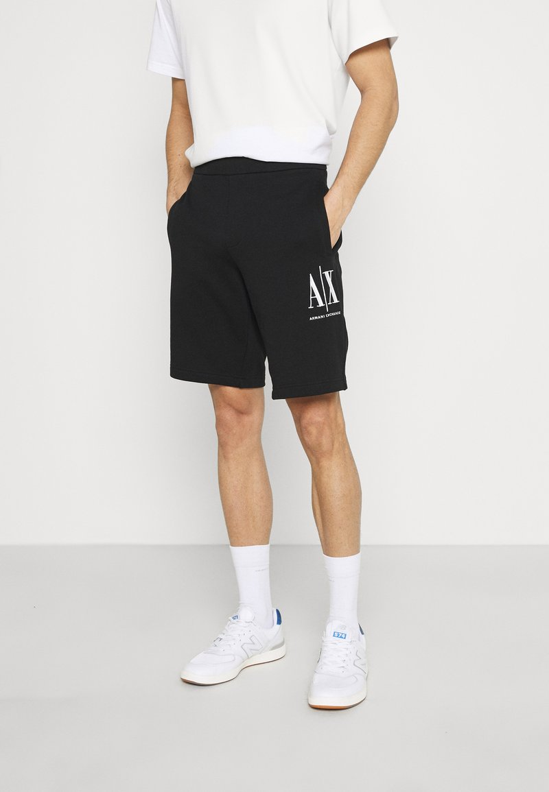 Armani Exchange - Shorts - black