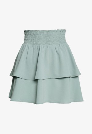 ONLNOVA LUX SMOCK  - Gonna a pieghe - chinois green