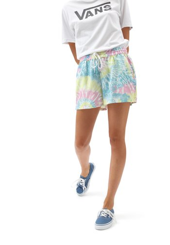 WM SPRIALING WOVEN SHORT - Shorts - orchid