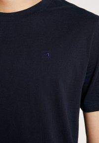 Scotch & Soda - Basic T-shirt - navy - 4