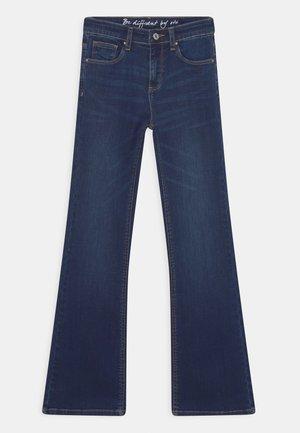 Bootcut jeans - mid blue denim