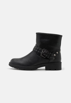 LEXI - Cowboy/biker ankle boot - black