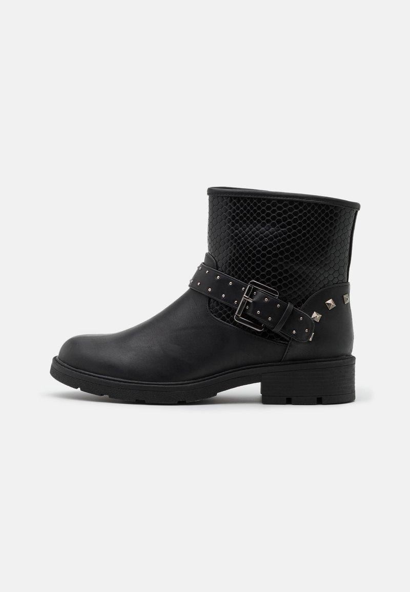 Fitters - LEXI - Cowboy/biker ankle boot - black