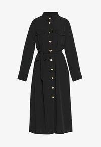 Monki - LIV UTILITY DRESS - Skjortekjole - black - 3