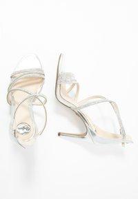 Buffalo - MAKAI - High heeled sandals - silver - 3