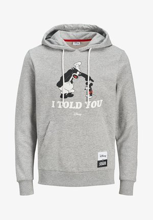 DISNEY - Hoodie - light grey melange
