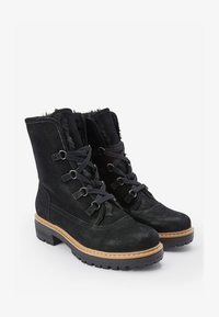 Next - FOREVER COMFORT® - Lace-up ankle boots - black - 1