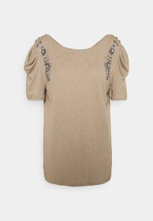 DEANA - Camiseta estampada - mastic