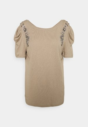 DEANA - T-shirt con stampa - mastic