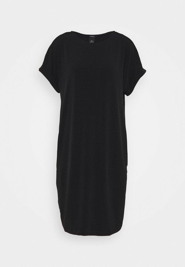 DRESS MARIA - Trikoomekko - black