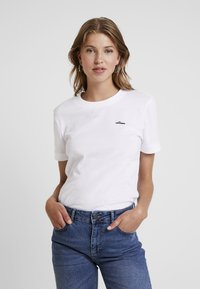 adidas Originals - TEE - T-shirt basique - white - 0