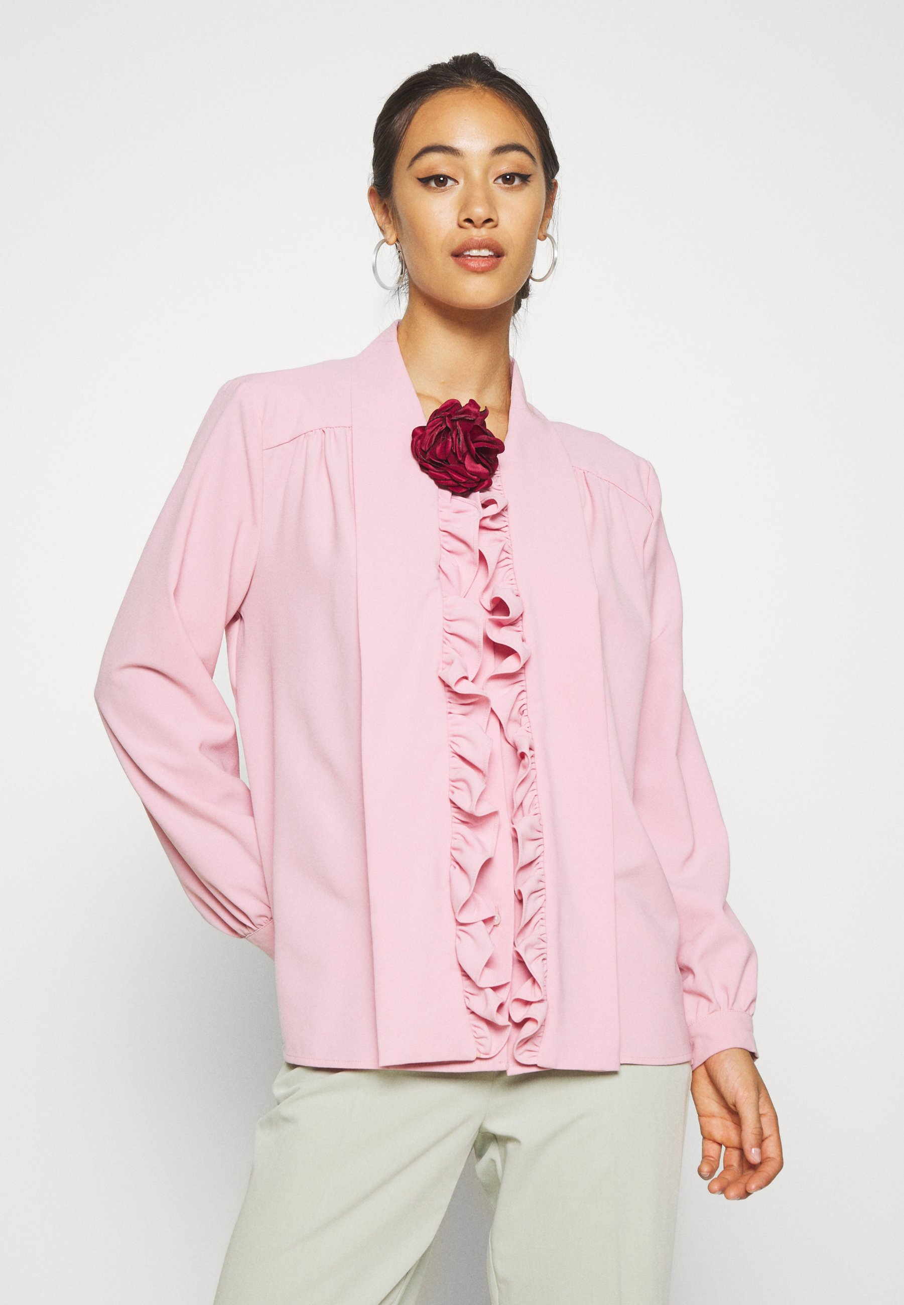 Sister Jane POWDER ROSE BOW - Blouse - pink - Dameskleding AAA-kwaliteit
