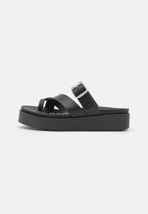 DODO - Sandály s odděleným palcem - black