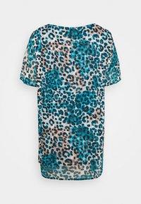 DKNY - Print T-shirt - ivory gemstone/black/multi - 5