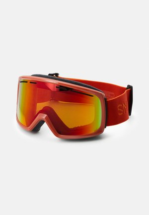 RANGE UNISEX - Ski goggles - red sol
