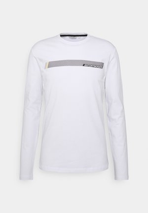 SUPER SLIM FIT IN STRETCH - Long sleeved top - white