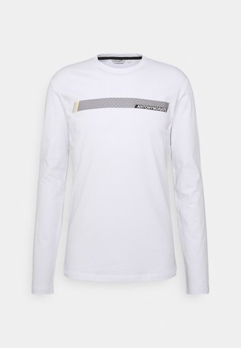 SUPER SLIM FIT IN STRETCH - Pitkähihainen paita - white