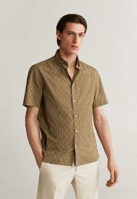 Mango - Formal shirt - beige - 1