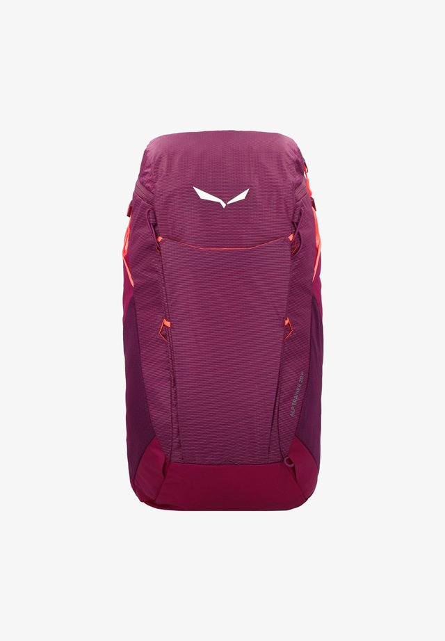 ALP TRAINER - Tourenrucksack - dark purple