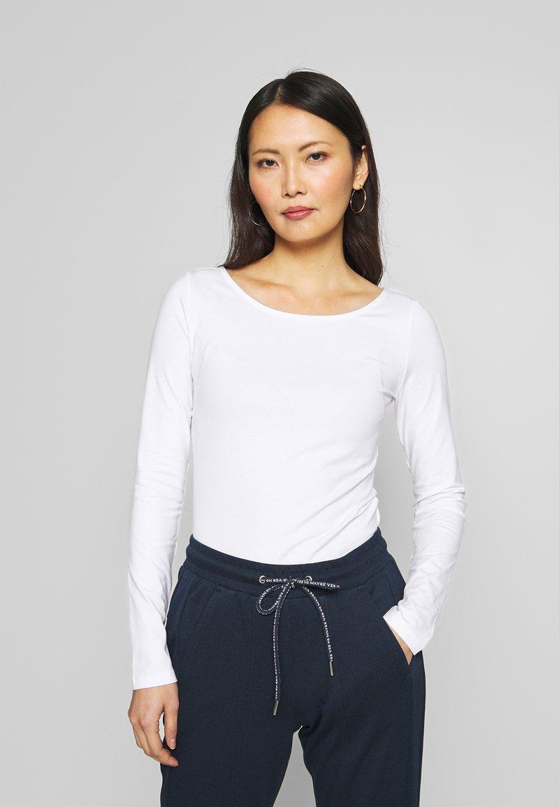 Anna Field - Langærmede T-shirts - white