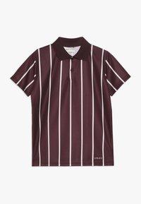 Unauthorized - ANTONIO FOOTBALL - Polo shirt - burgundy - 0