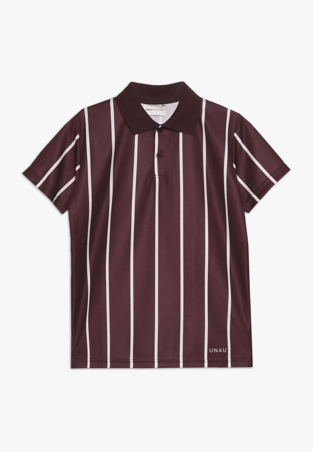 ANTONIO FOOTBALL - Polo shirt - burgundy