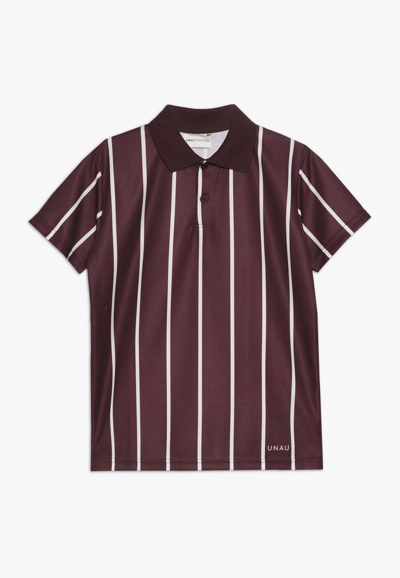 Unauthorized - ANTONIO FOOTBALL - Polo shirt - burgundy