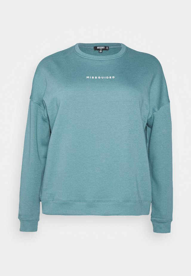 BASIC - Sweatshirt - blue