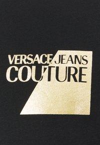 Versace Jeans Couture - FOIL - Print T-shirt - black - 6