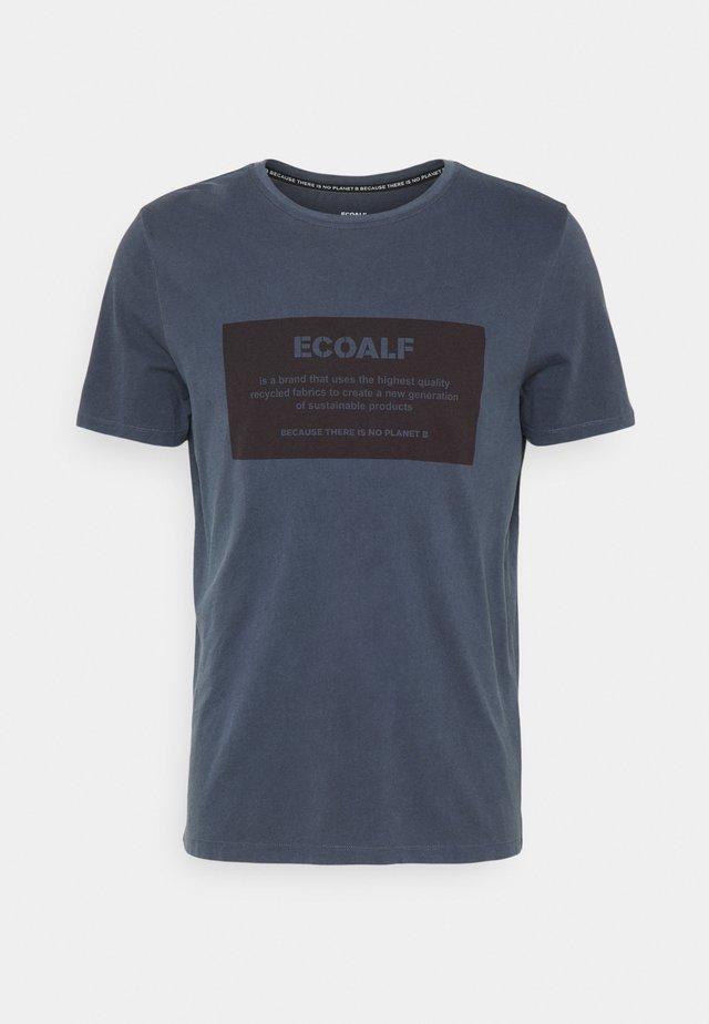 NATAL LOGO MAN - Print T-shirt - deep navy