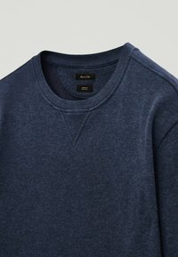 Massimo Dutti - MIT KONTRASTDETAIL - Sweatshirt - blue - 2