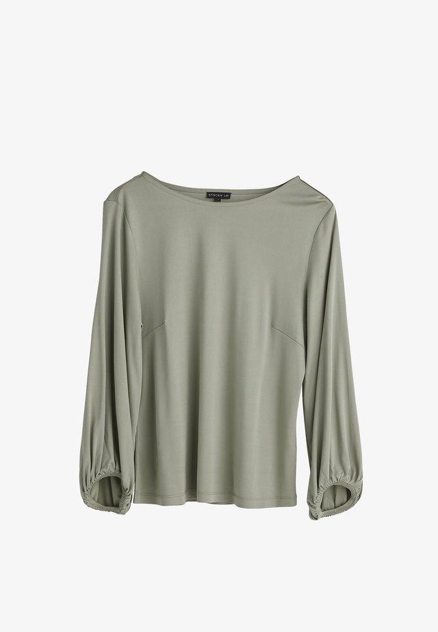 ELISA  - Pitkähihainen paita - seagrass